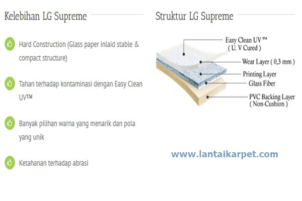 Lantai Vinyl Lg Supreme